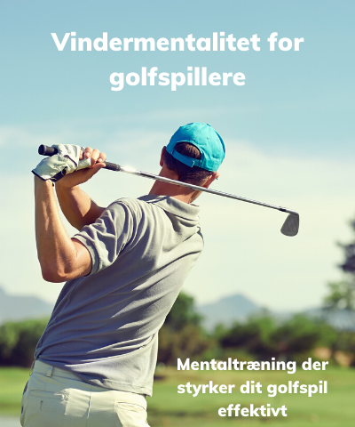 Vindermentalitet for golfspillere mentaltræningspakke