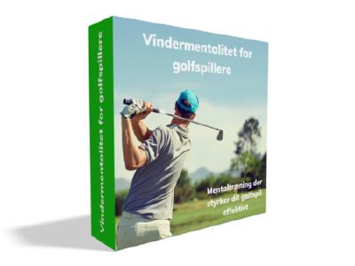 Golf mentaltræning cover