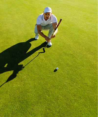 overtænkning golf mentaltræning