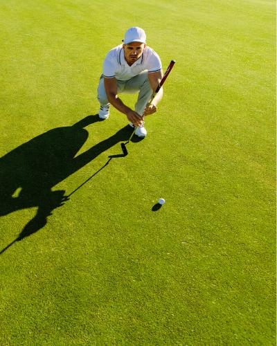 Golf - overtænkning