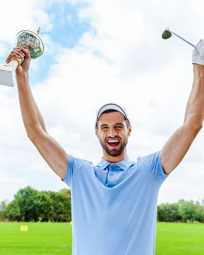 Positiv tænkning golf